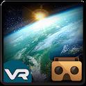 Espaço gravidade caminhada VR icon