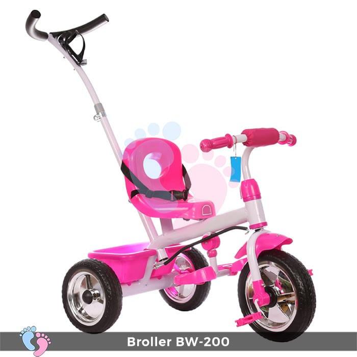 Xe đạp 3 bánh Broller XD3-200 có cây đẩy 1
