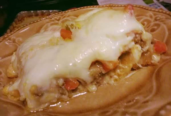 Philly Cheesesteak Crescent Bake Recipe