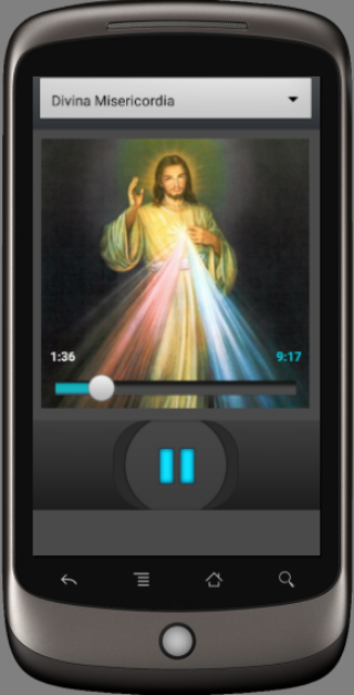 Rosary audio Latin- screenshot
