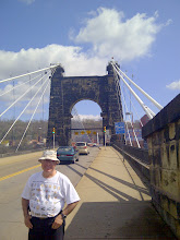 Photo: Suspension Bridge-Wheeling WVA