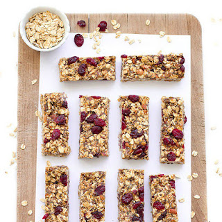 Healthy No-Bake Granola Bars.