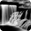 Dark Waterfall Live Wallpaper icon