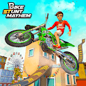 Impossible Track Bike Stunt Racing: New Games 2020 icon
