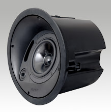 Photo: Krix Atmospherix A20 angled in-ceiling speaker (shown without front grill)