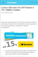 Screenshot of PegaDesconto cupom e promoção