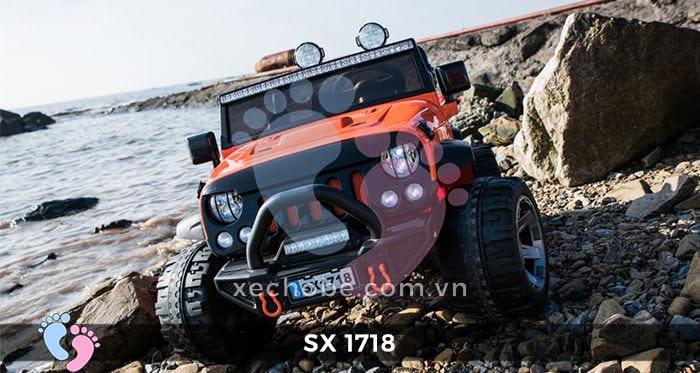 Xe ô tô điện trẻ em Jeep SX-1718 2