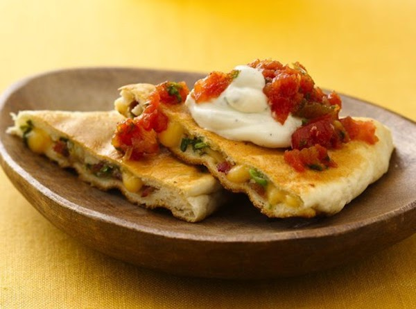 Chicken Bacon Ranch Quesadillas Recipe