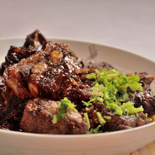Miso Barbecue Beef Short Ribs.