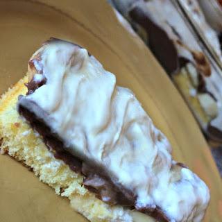 Chocolate Banana Twinkie Cake.