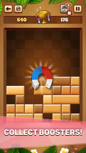 Woody Drop Puzzle - Free Block Mind Games filehippodl screenshot 6