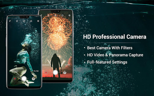 HD Camera - Video, Panorama, Filters, Beauty Cam screenshots 1