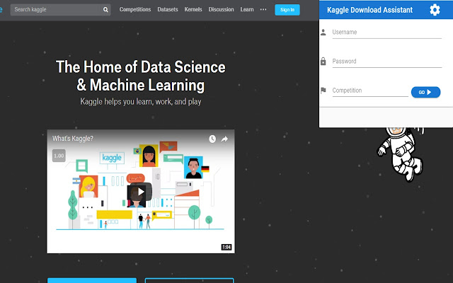 Kaggle Download Assistant