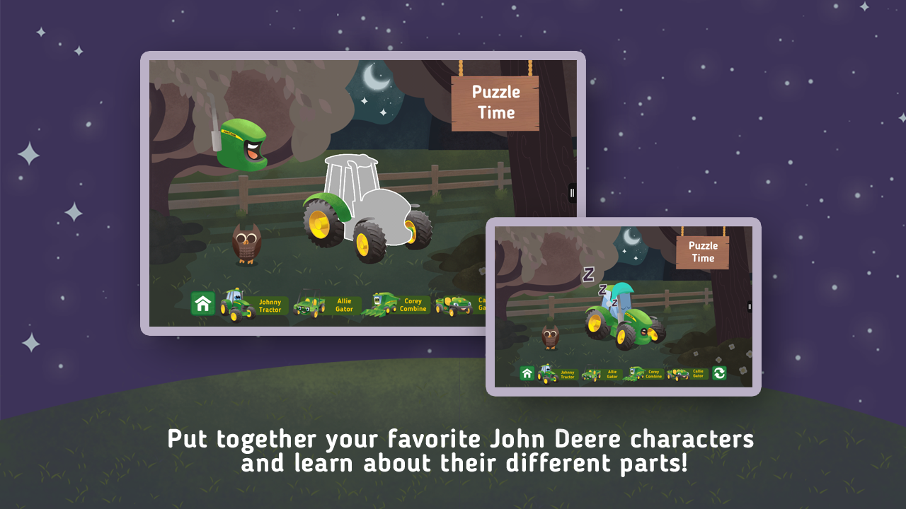 Goodnight, Johnny Tractor- screenshot
