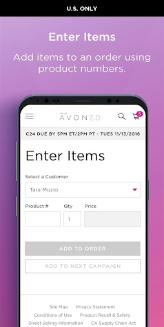 Avon On the Go Screenshot
