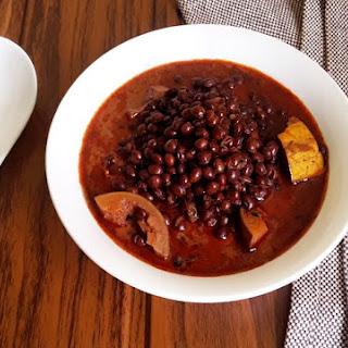 Tori Bendi – Pigeon pea chili curry (Vegan + Gluten Free).