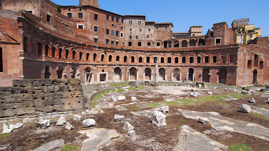 Photo: Trajan's market, oldest known shopping mall
