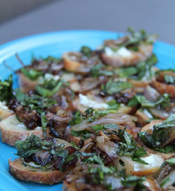 (sauteed) Fig And Goat Cheese Appetizer