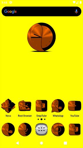 Wicked Orange Icon Pack u2728Freeu2728 screenshots 1