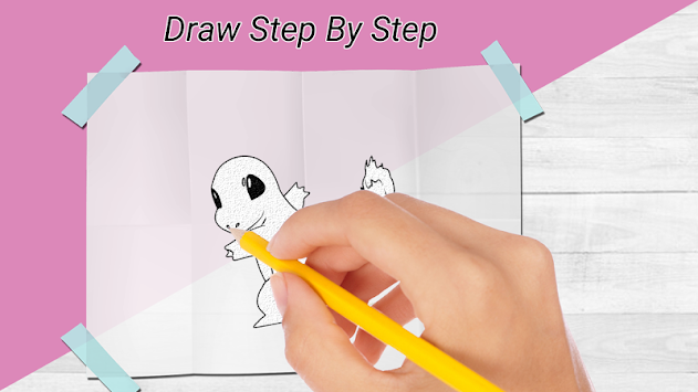 How to draw pokemon & Pokemon APK screenshot thumbnail 2