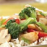 Chicken Teriyaki Stir Fry, Rice