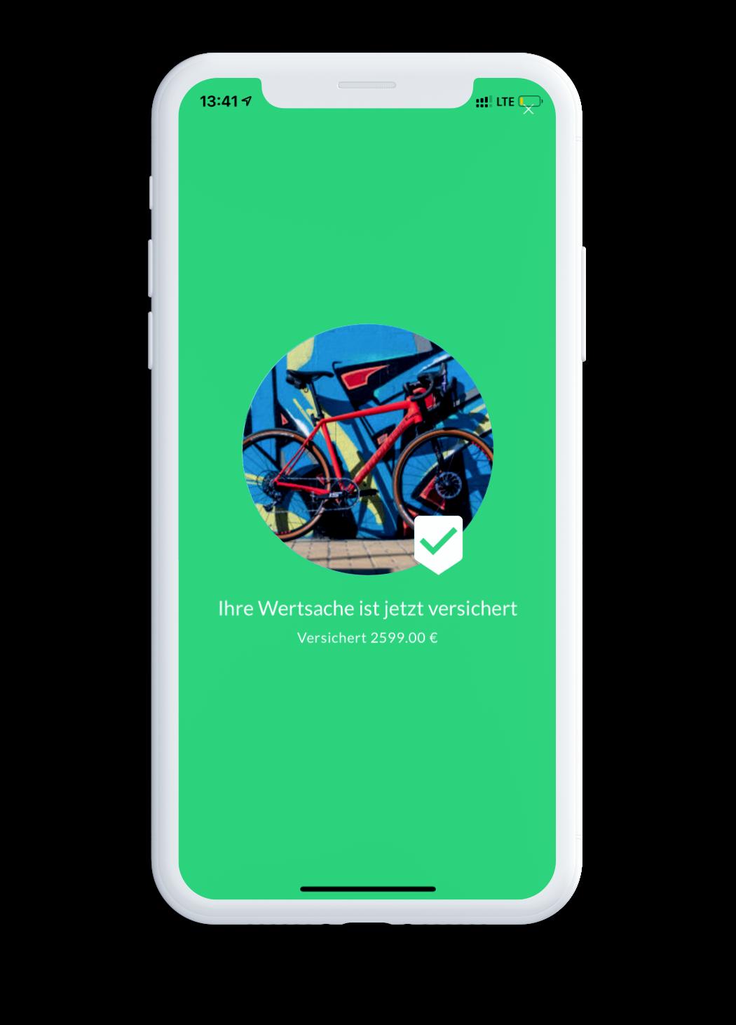 blanket App - Wertsache versichert