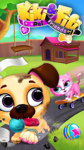 Kiki & Fifi Pet Friends - Furry Kitty & Puppy Care  screenshots EasyGameCheats.pro 1