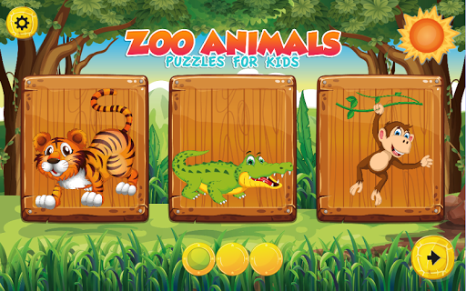 Puzzles for kids Zoo Animals  screenshots 1