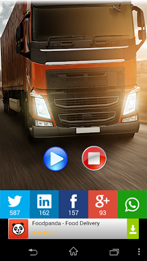 Bocina de camión broma