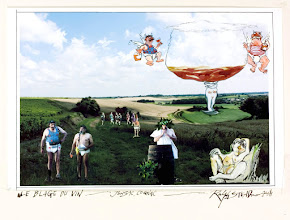 Photo: STEADMAN Ralph (Angleterre UK) - <Blague du Vin - Jonzac, Cognac 2008> - <Wine Joke - Jonzac, Cognac 2008>
