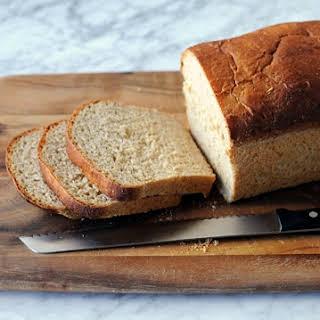 Honey Oatmeal Sandwich Bread.