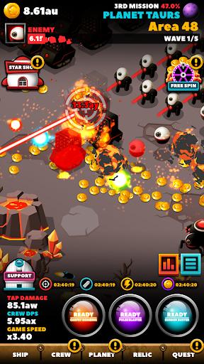 SPACE WAR : IDLE CLICKER 1.0.23 screenshots 7