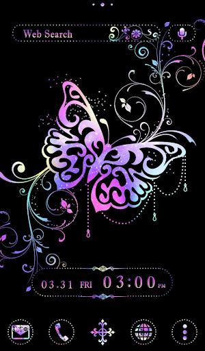Stylish Theme Galaxy Butterfly 1.0.0 Windows u7528 5