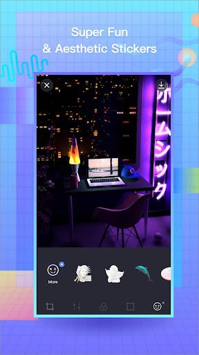VaporCam-Glitch, Aesthetic, Vaporwave Photo Editor 1.9.3 screenshots 4
