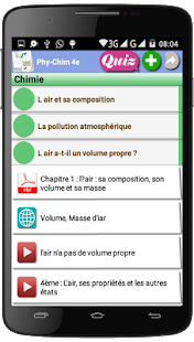 Physique Chimie 4ème - náhled
