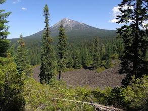 Photo: Mt. McLoughlin from Brown Mountain Lava Flow