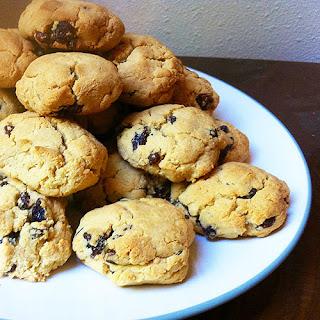 Gluten Free Cinnamon Raisin Coconut Cookies
