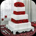 Tile Puzzle - Wedding Cake icon