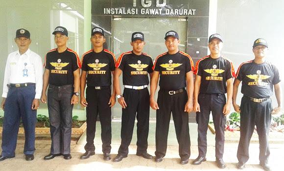 Team Security PT.Berkah Prima Putra di RS.Akamedika Sribawono Lampung Timur