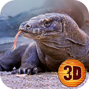 Komodo Dragon Lizard Simulator for PC and MAC