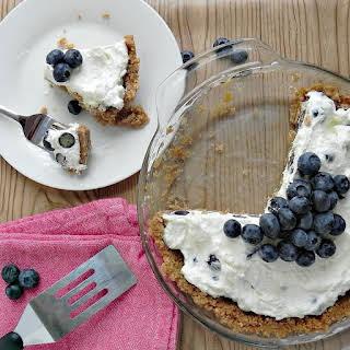 Easy No Bake Cheesecake.