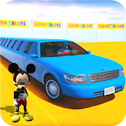 Superhero Limo Car Stunts: Free Kids Racing Games
