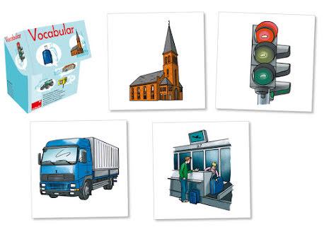 Vocabular - Fordon, trafik och byggnader - 7763-669-4