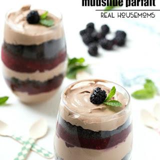 Mixed Berry Mudslide Parfait