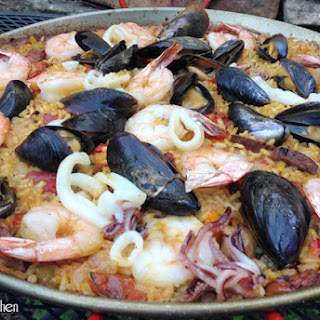 Paella On The Grill