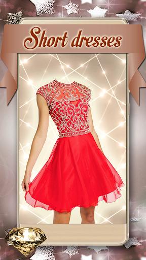 Short Dress Girl Photo Montage 1.25 screenshots 2