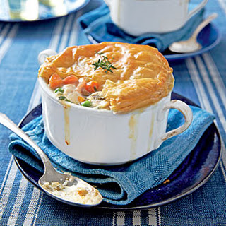 Loaded Chicken-Bacon Pot Pie