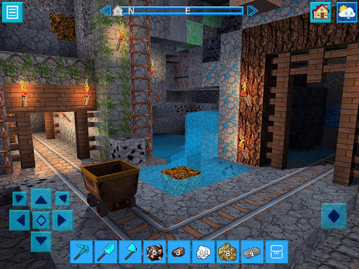 JurassicCraft: Free Block Build & Survival Craft  screenshots 3