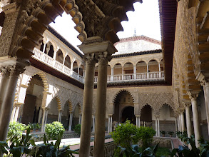 Photo: Alcazar, Seville, Spain