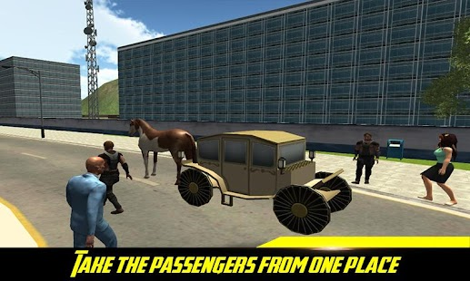 City Horse Carriage Rider: Carts Riding Games - náhled